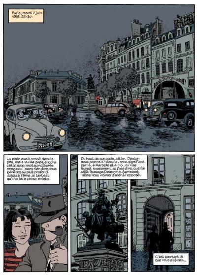 Page 6 Nestor burma tome 5 - la nuit de saint-germain-des-prés