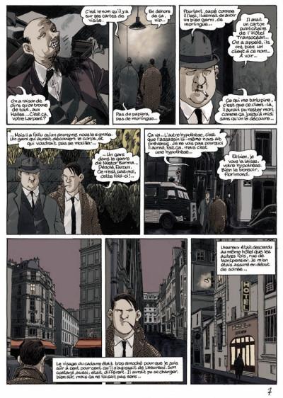 Page 1 Nestor burma - Le soleil naît derrière le Louvre