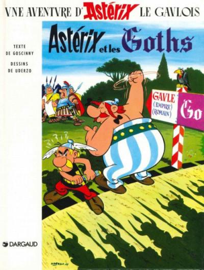 Couverture Astérix tome 3 - Astérix et les Goths