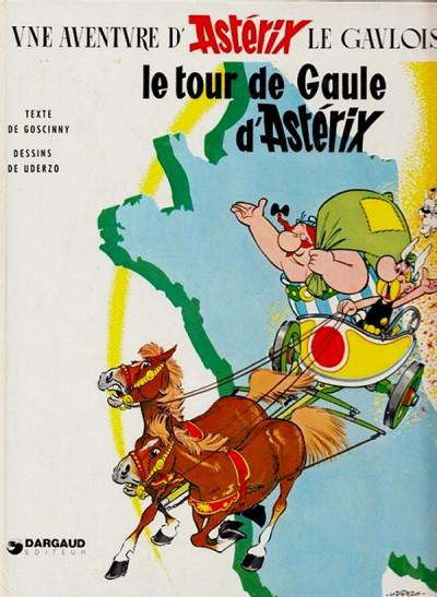 Couverture Astérix tome 5 - Le tour de Gaule