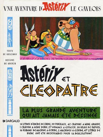 Couverture Astérix tome 6 - Astérix et Cléopatre