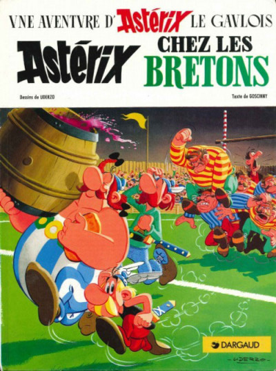 Couverture Astérix tome 8 - Chez les bretons