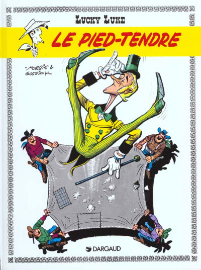 Couverture Lucky Luke tome 2 - le pied tendre