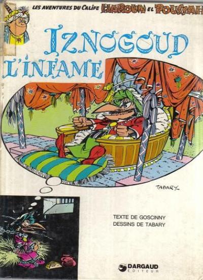 Couverture Iznogoud tome 4 - Iznogoud l'infâme (éd. 1975)