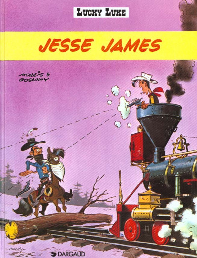 Couverture Lucky Luke tome 35 - Jessie James