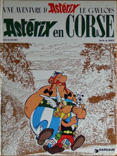 Couverture Astérix tome 20 - Astérix en corse