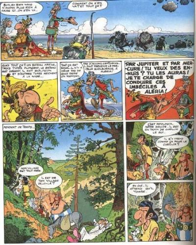 Page 2 Astérix tome 20 - Astérix en corse