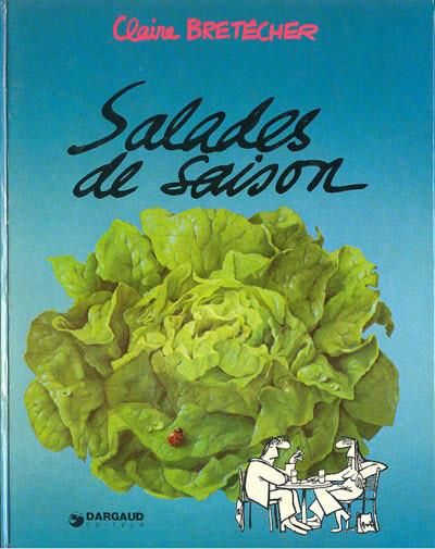 Couverture Les salades de saison