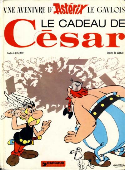 Couverture Astérix tome 21 - le cadeau de César