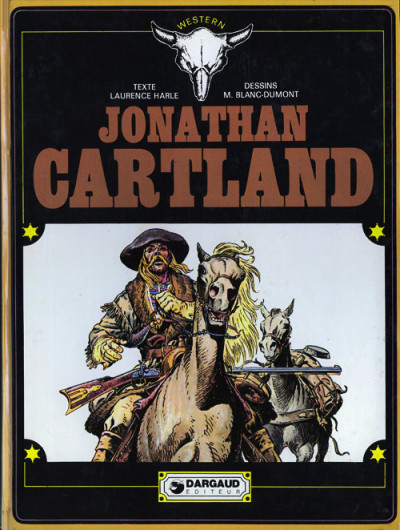 Couverture Jonathan Cartland tome 1 - Jonathan Cartland