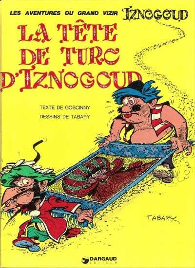 Couverture Iznogoud tome 11 - La tête de Turc d'Iznogoud (éd. 1975)