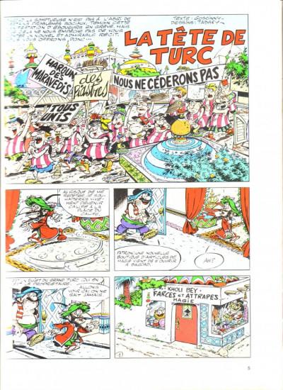 Page 1 Iznogoud tome 11 - La tête de Turc d'Iznogoud (éd. 1975)