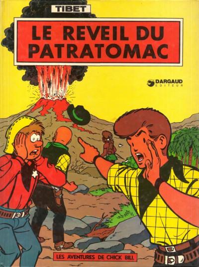 Couverture Chick Bill tome 12 - Le réveil du Patratomac (éd. 1975)