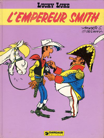 Couverture Lucky Luke tome 45 - l'empereur smith