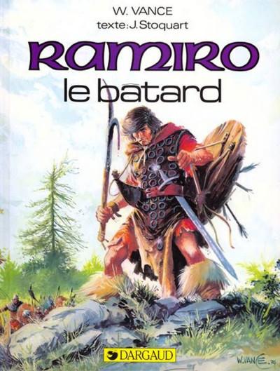 Couverture Ramiro tome 1 - le bâtard