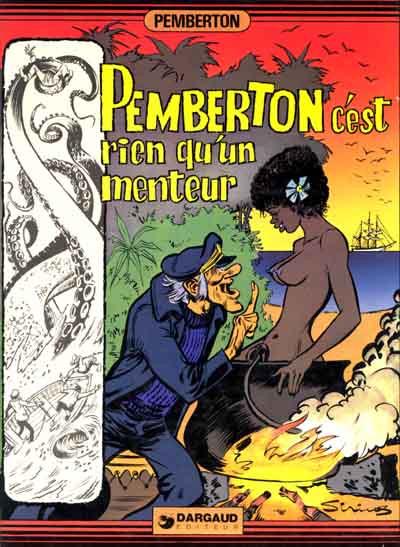 Couverture Pemberton tome 2 - Pemberton c'est rien qu'un menteur (éd. 1977)