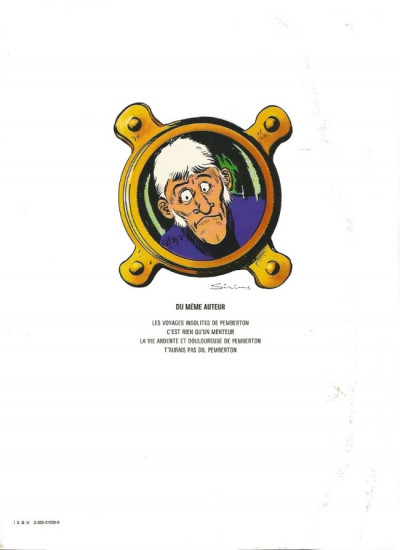 Dos Pemberton tome 2 - Pemberton c'est rien qu'un menteur (éd. 1977)
