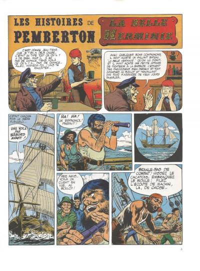 Page 2 Pemberton tome 2 - Pemberton c'est rien qu'un menteur (éd. 1977)