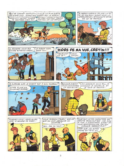 Page 1 Chick Bill tome 17 - Le chaud fauve et le faux chauve (éd. 1977)