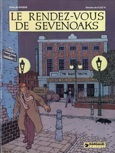 Couverture Albany et Sturgess tome 1 - Le rendez-vous de Sevenoaks