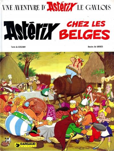 Couverture Astérix tome 24 - chez les belges