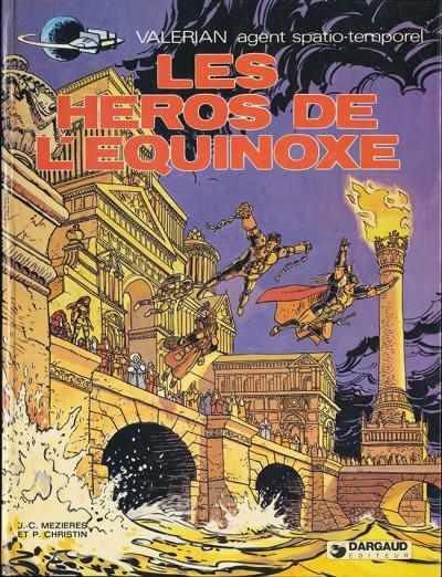 Couverture Valérian tome 8 - Les héros de l'équinoxe