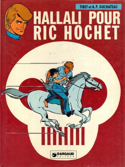 Couverture Ric Hochet tome 28 - Hallali pour Ric Hochet