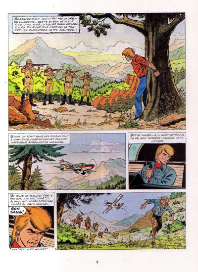 Page 1 Ric Hochet tome 28 - Hallali pour Ric Hochet