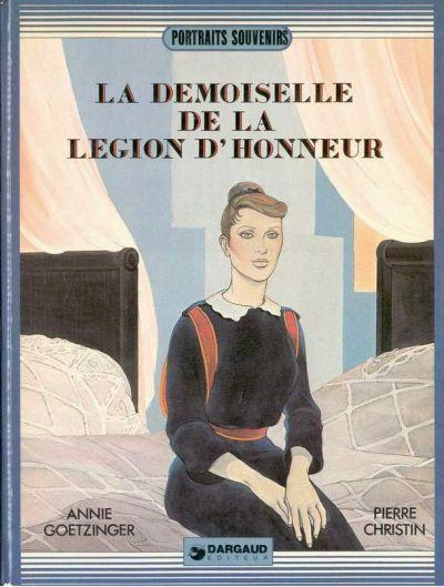Couverture La demoiselle de la légion d'honneur