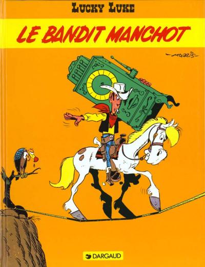 Couverture Lucky Luke tome 48 - le bandit manchot