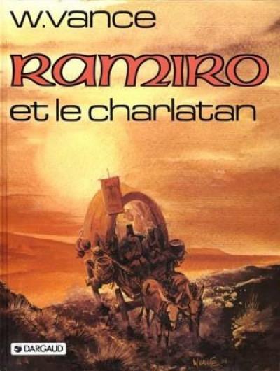 Couverture Ramiro tome 5 - le charlatan