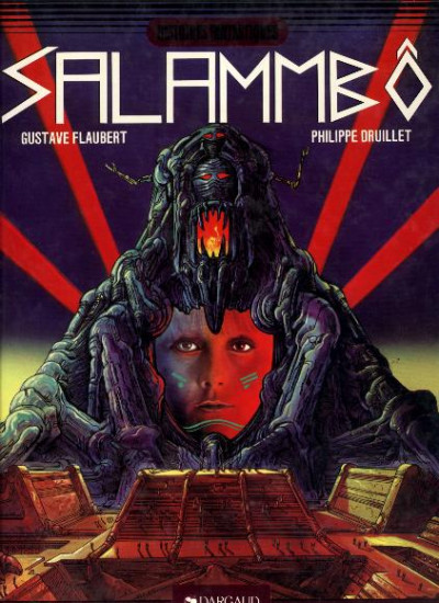 Couverture Lone Sloane tome 5 - Salammbô (éd. 1981)