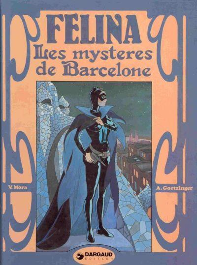 Couverture Félina tome 2 - Les mystères de Barcelone