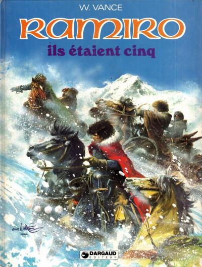 Couverture Ramiro tome 7 - Ils étaient cinq