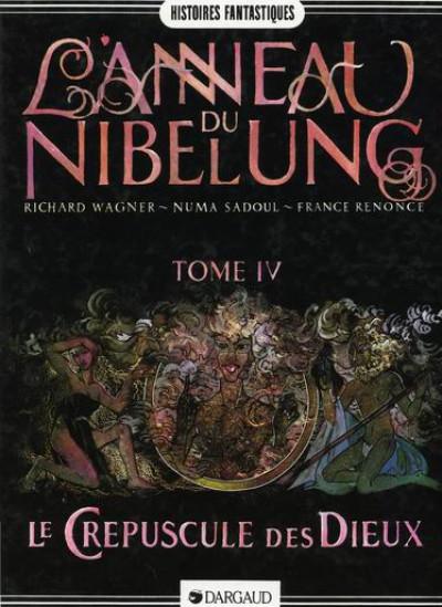 Couverture L'anneau du Nibelung tome 4