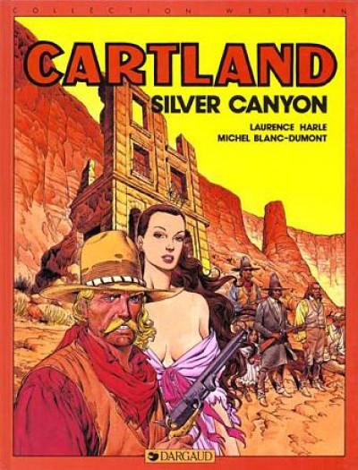 Couverture Jonathan Cartland tome 7 - silver canyon