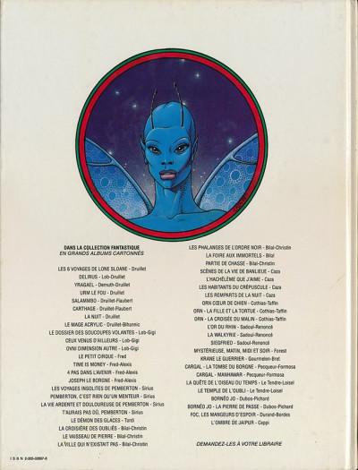 Dos Âge d'ombre (L') tome 2 - Les remparts de la nuit (éd. 1984)