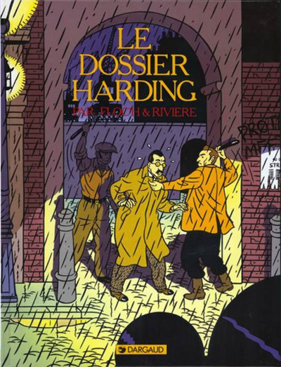 Couverture Albany & Sturgess tome 2 - le dossier harding