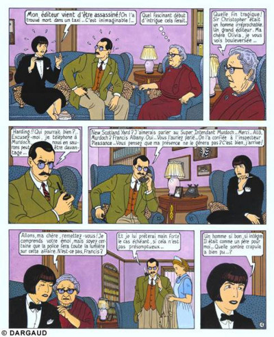 Page 1 Albany & Sturgess tome 2 - le dossier harding