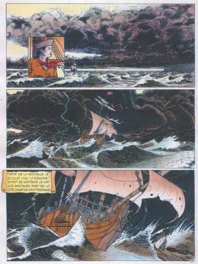 Page 1 Marie l'Aventure tome 1 - La mort rouge