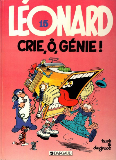 Couverture Léonard tome 15 - crie ô génie