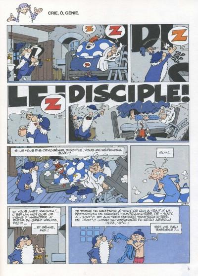 Page 3 Léonard tome 15 - crie ô génie