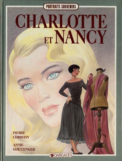 Couverture Charlotte et Nancy