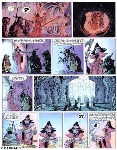 Page 1 Percevan tome 6 - les clefs de feu