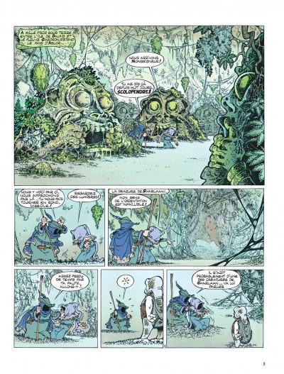 Page 3 Percevan tome 6 - les clefs de feu