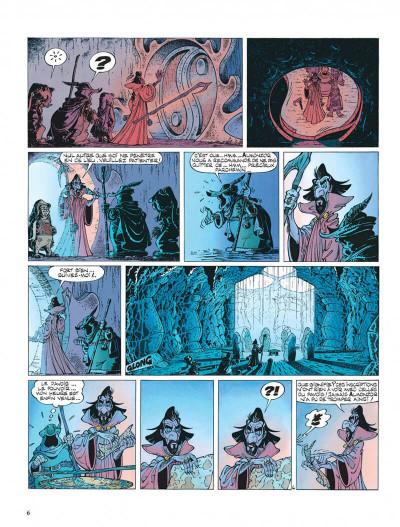 Page 6 Percevan tome 6 - les clefs de feu