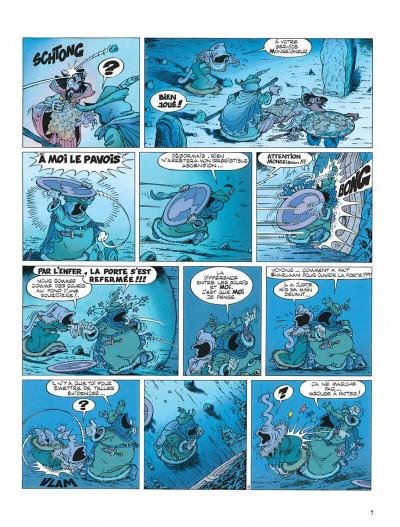 Page 7 Percevan tome 6 - les clefs de feu