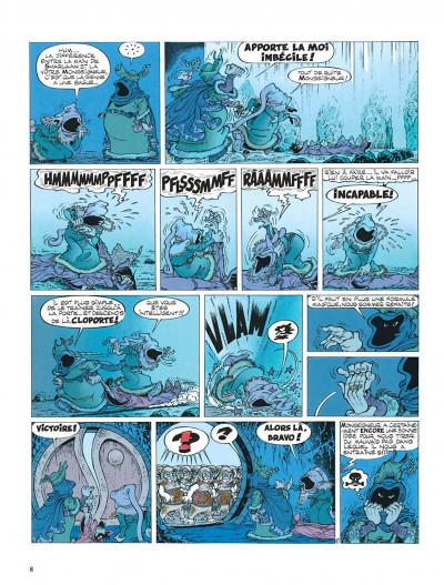 Page 8 Percevan tome 6 - les clefs de feu
