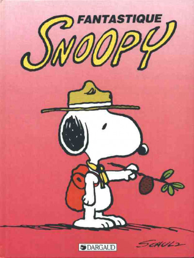Couverture Snoopy tome 14 - fantastique snoopy