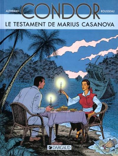 Couverture Condor tome 4 - le testament de marius casanova